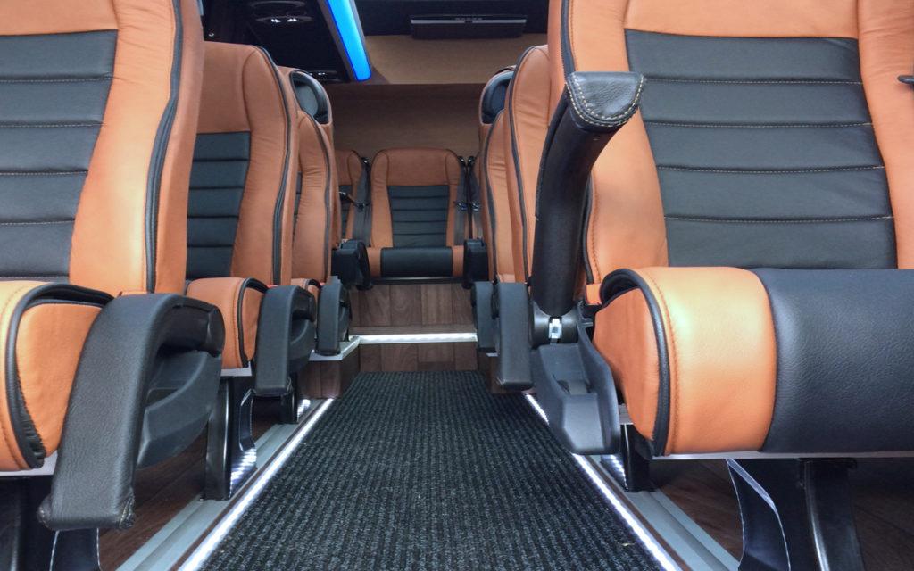 vervoer met luxe detail